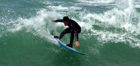 Surfen learn english